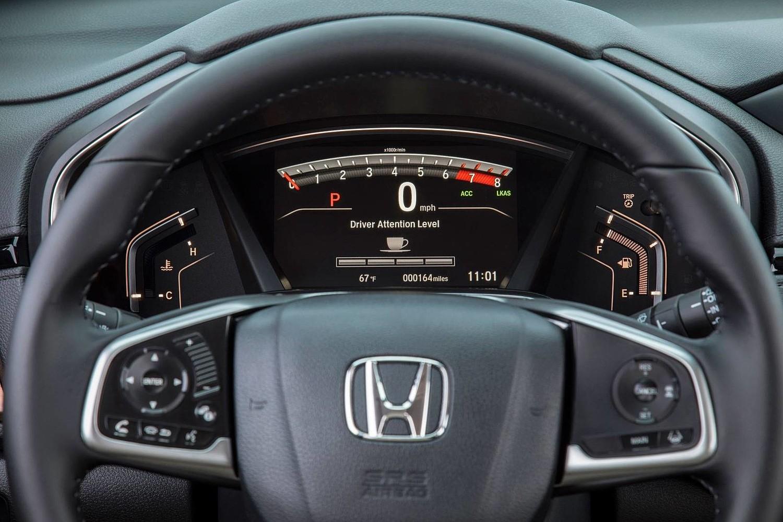 Honda CR-V Touring 4dr SUV Gauge Cluster (2017 model year shown)