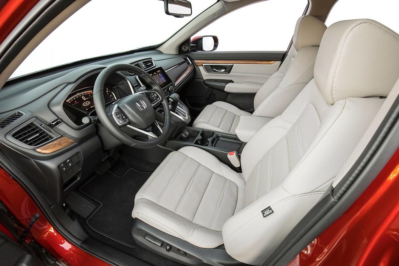 Honda CR-V Touring 4dr SUV Interior Shown (2017 model year shown)