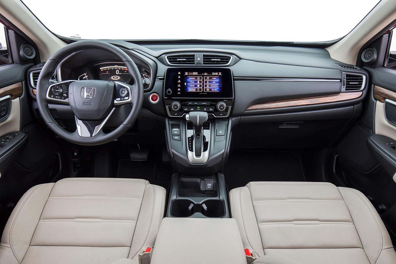 Honda CR-V Touring 4dr SUV Dashboard Shown (2017 model year shown)