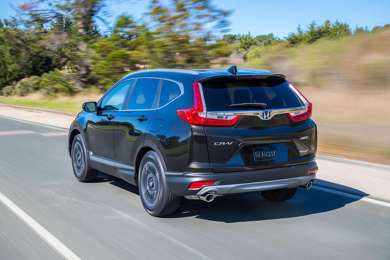 Honda CR-V Touring 4dr SUV Exterior (2017 model year shown)