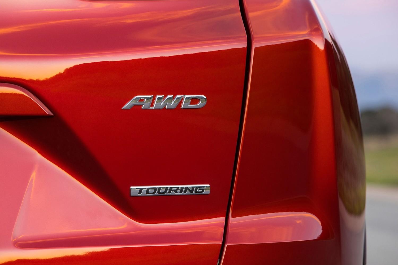 Honda CR-V Touring 4dr SUV Rear Badge (2017 model year shown)