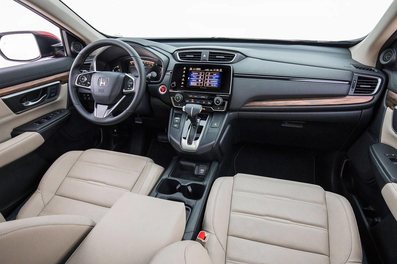 Honda CR-V Touring 4dr SUV Interior (2017 model year shown)