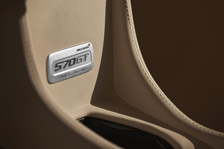 2017 McLaren 570GT Coupe Interior Detail