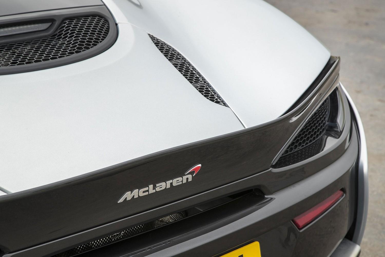 2017 McLaren 570GT Coupe Rear Badge