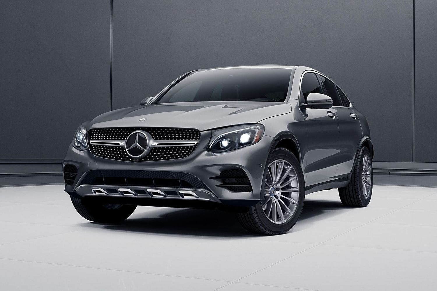 Mercedes Benz Glc Cl Coupe 300 4matic 4dr Suv Exterior 2017 Model