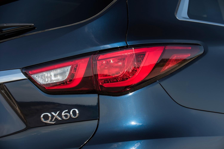 Infiniti QX60 4dr SUV Rear Badge (2017 model year shown)