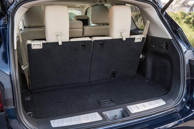 Infiniti QX60 4dr SUV Cargo Area (2017 model year shown)