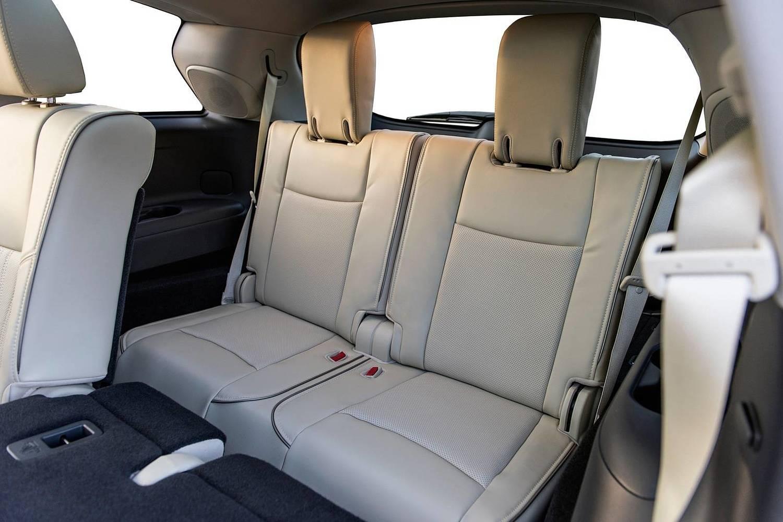 Infiniti QX60 4dr SUV Rear Interior Shown (2017 model year shown)