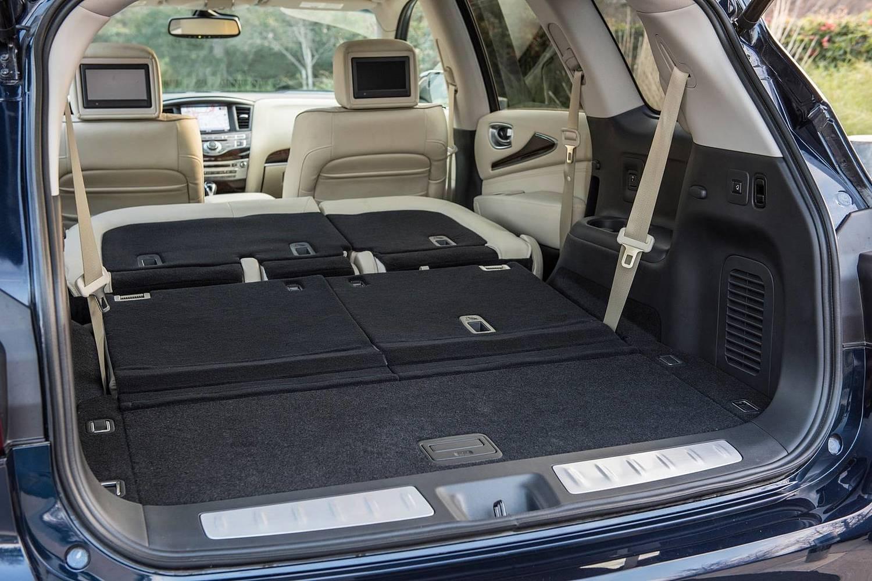 Infiniti QX60 4dr SUV Interior (2017 model year shown)