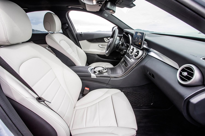 Mercedes-Benz C-Class C 350e Sedan Interior Shown (2016 model year shown)