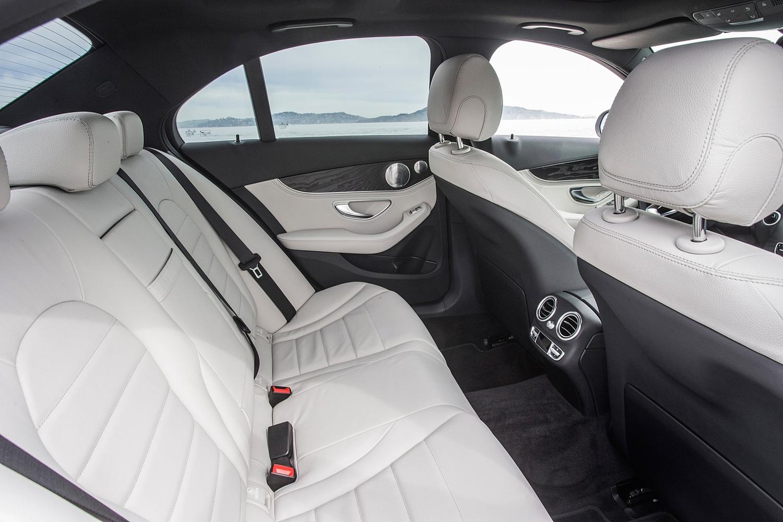 Mercedes-Benz C-Class C 350e Sedan Rear Interior Shown (2016 model year shown)