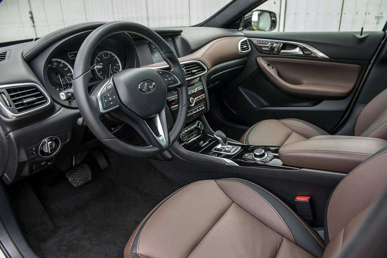 2017 Infiniti QX30 Premium 4dr SUV Interior