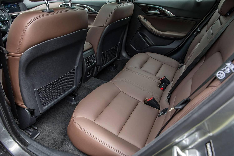 2017 Infiniti QX30 Premium 4dr SUV Rear Interior
