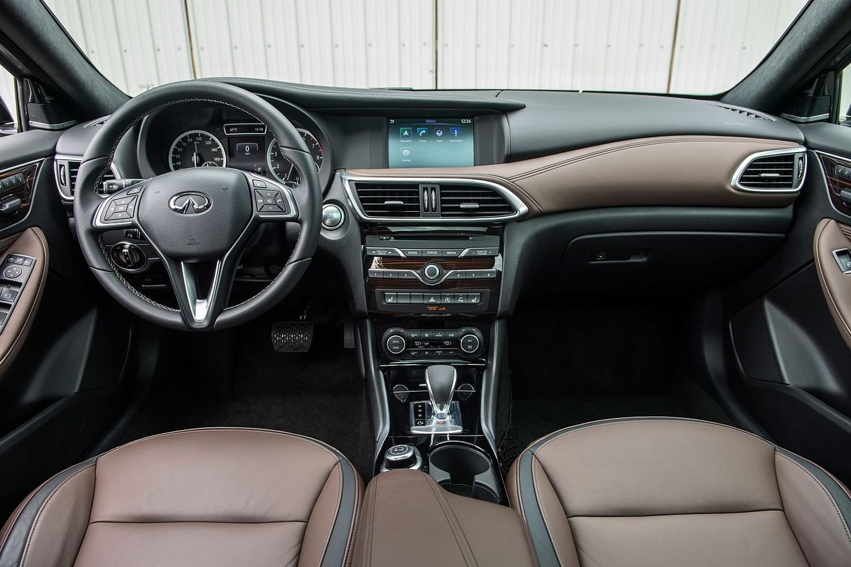 2017 Infiniti QX30 Premium 4dr SUV Dashboard Shown