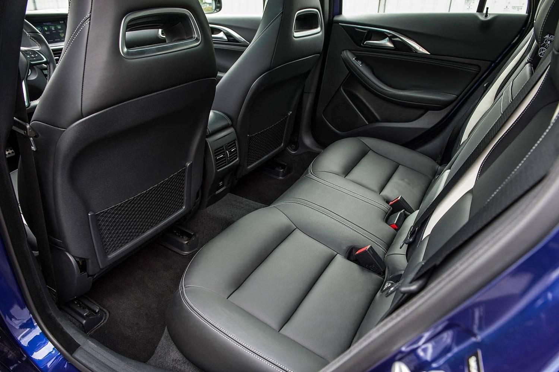 2017 Infiniti QX30 Sport 4dr SUV Rear Interior