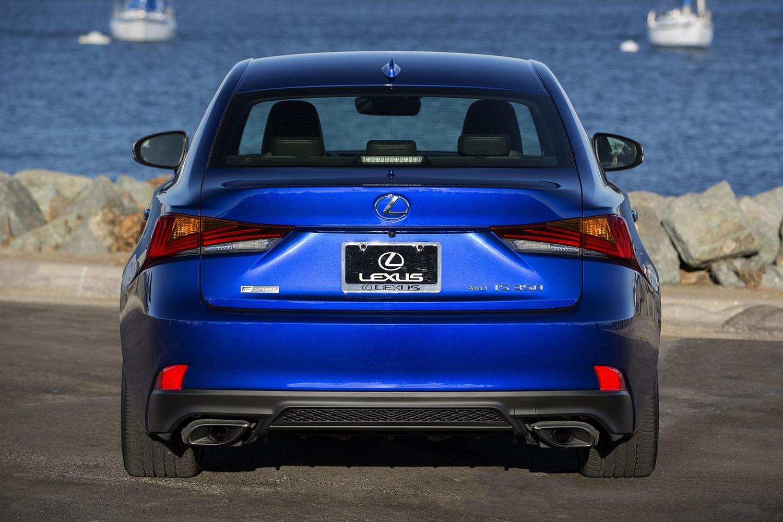 Lexus IS 350 Sedan Exterior. F SPORT Package Shown. (2017 model year shown)