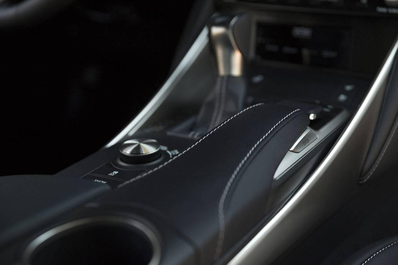 Lexus IS 300 Sedan Interior Detail. F SPORT Package Shown. (2017 model year shown)