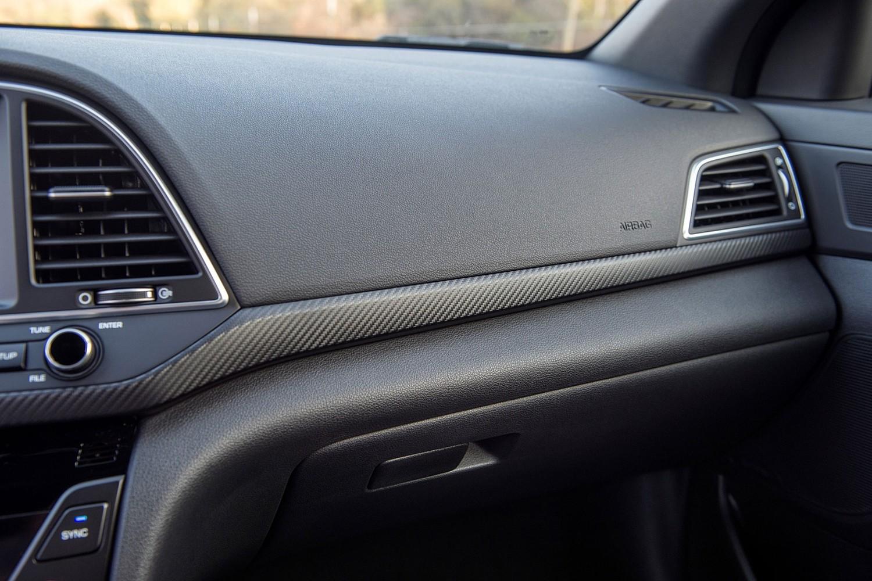 2017 Hyundai Elantra Sport Sedan Interior Detail