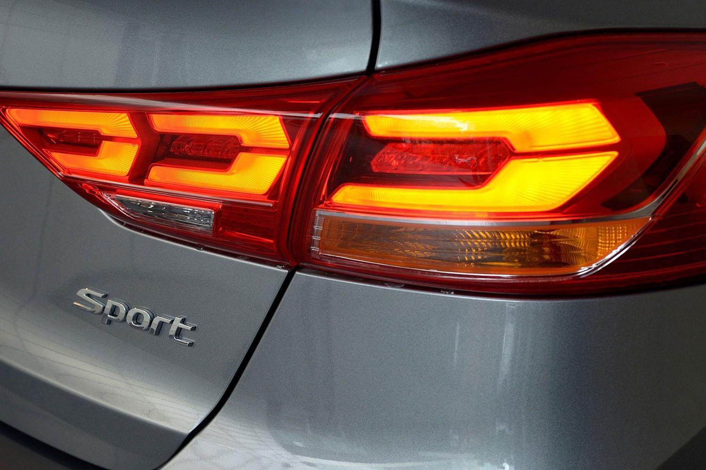 2017 Hyundai Elantra Sport Sedan Rear Badge