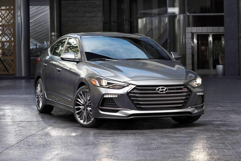 2017 Hyundai Elantra Sport Sedan Exterior