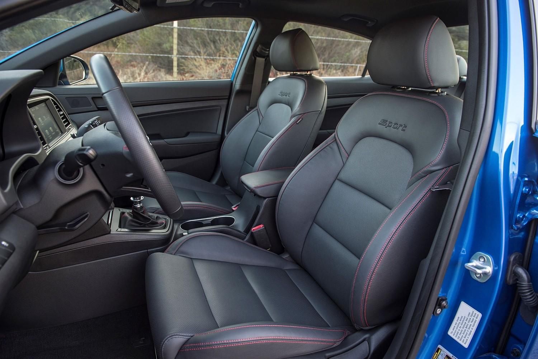 2017 Hyundai Elantra Sport Sedan Interior