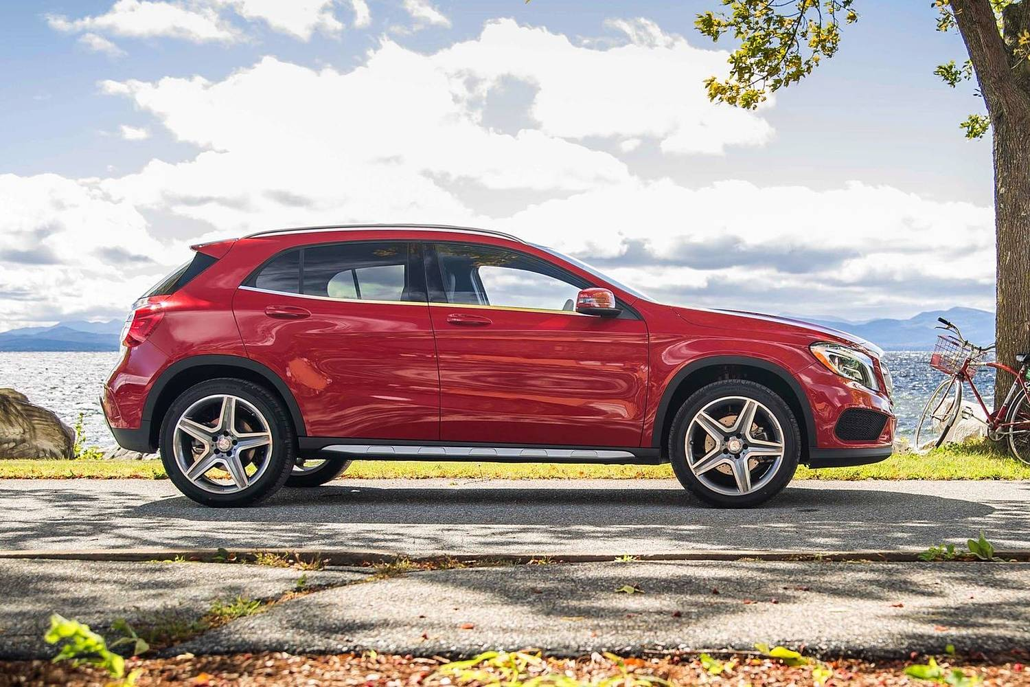 2017 Mercedes-Benz GLA-Class GLA250 4MATIC 4dr SUV Exterior. Sport Package Shown.