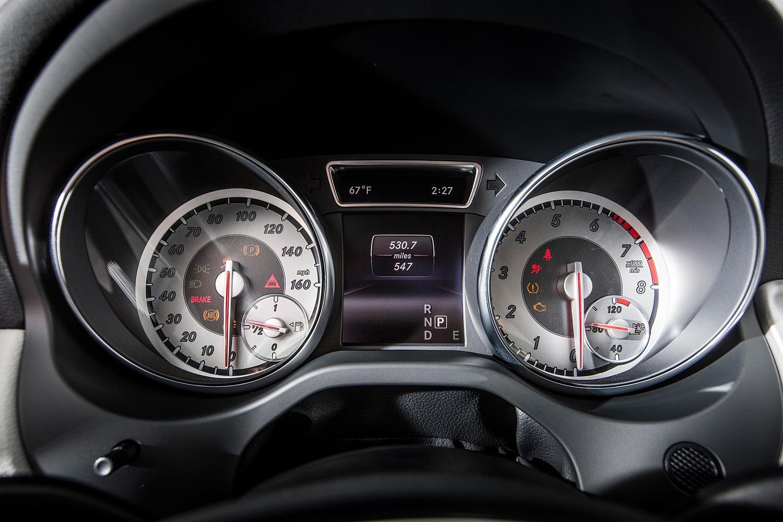 2017 Mercedes-Benz GLA-Class GLA250 4MATIC 4dr SUV Gauge Cluster