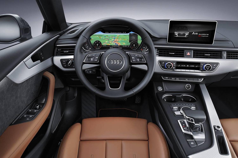 2018 Audi A5 Prestige quattro 4dr Hatchback Steering Wheel Detail Shown