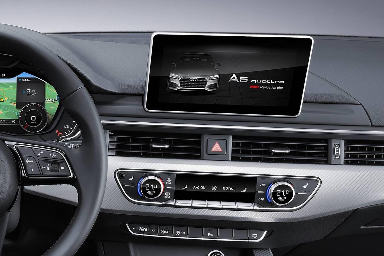 2018 Audi A5 Prestige quattro 4dr Hatchback Center Console Shown