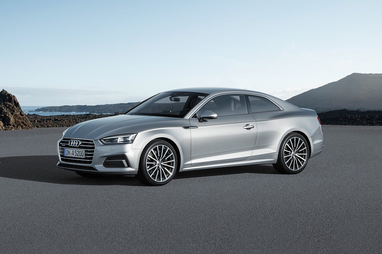 2018 Audi A5 Prestige quattro Coupe Exterior. European Model Shown.