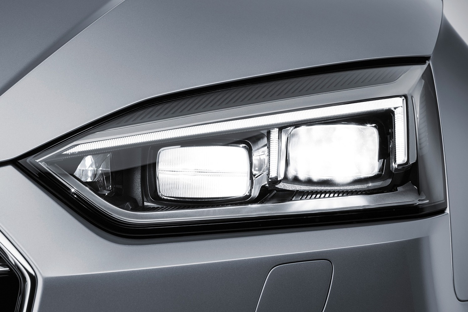2018 Audi A5 Prestige quattro Coupe Headlamp Detail