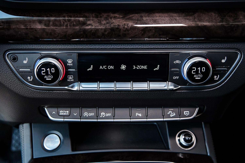 2018 Audi Q5 2.0T Prestige quattro 4dr SUV Center Console