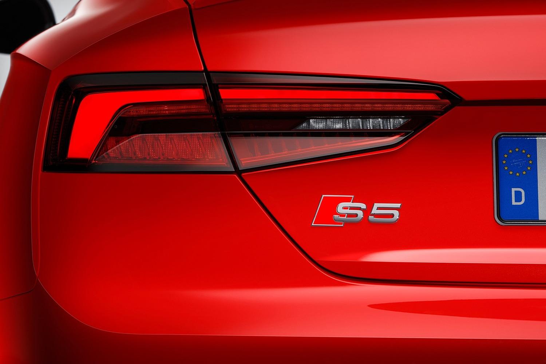 2018 Audi S5 Prestige quattro Coupe Rear Badge. European Model Shown.