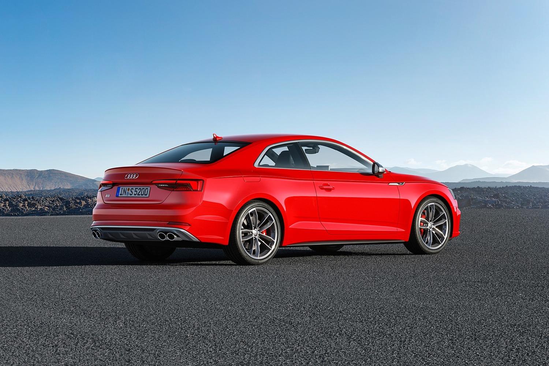 2018 Audi S5 Prestige quattro Coupe Exterior. European Model Shown.