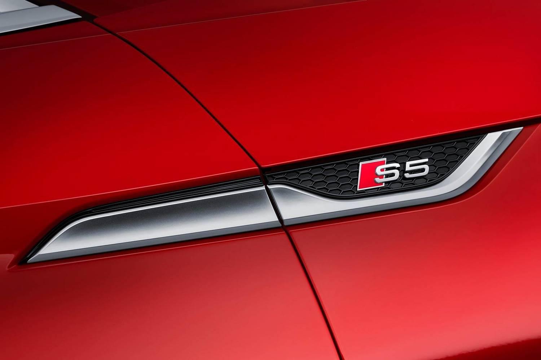 2018 Audi S5 Prestige quattro Coupe Fender Badge