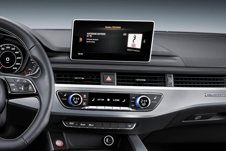 2018 Audi S5 Prestige quattro Coupe Center Console