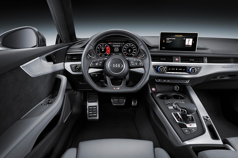 2018 Audi S5 Prestige quattro Coupe Steering Wheel Detail