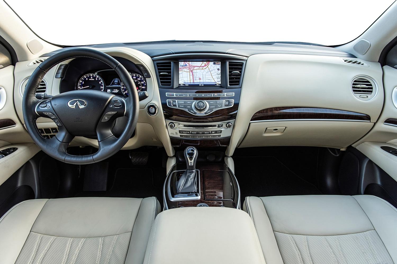 INFINITI QX60 4dr SUV Dashboard (2017 model year shown)