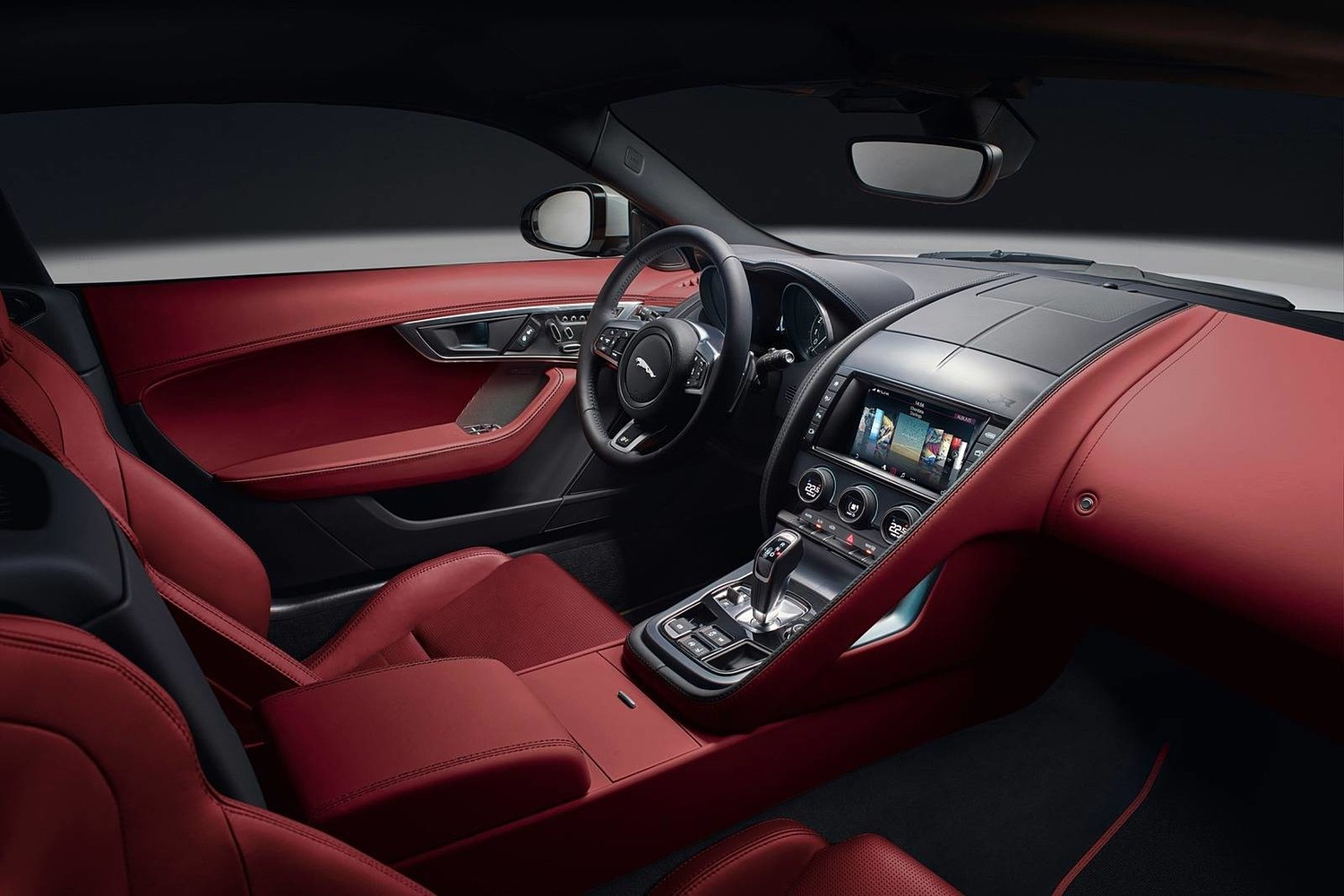 2018 Jaguar F-TYPE R Coupe Dashboard Shown