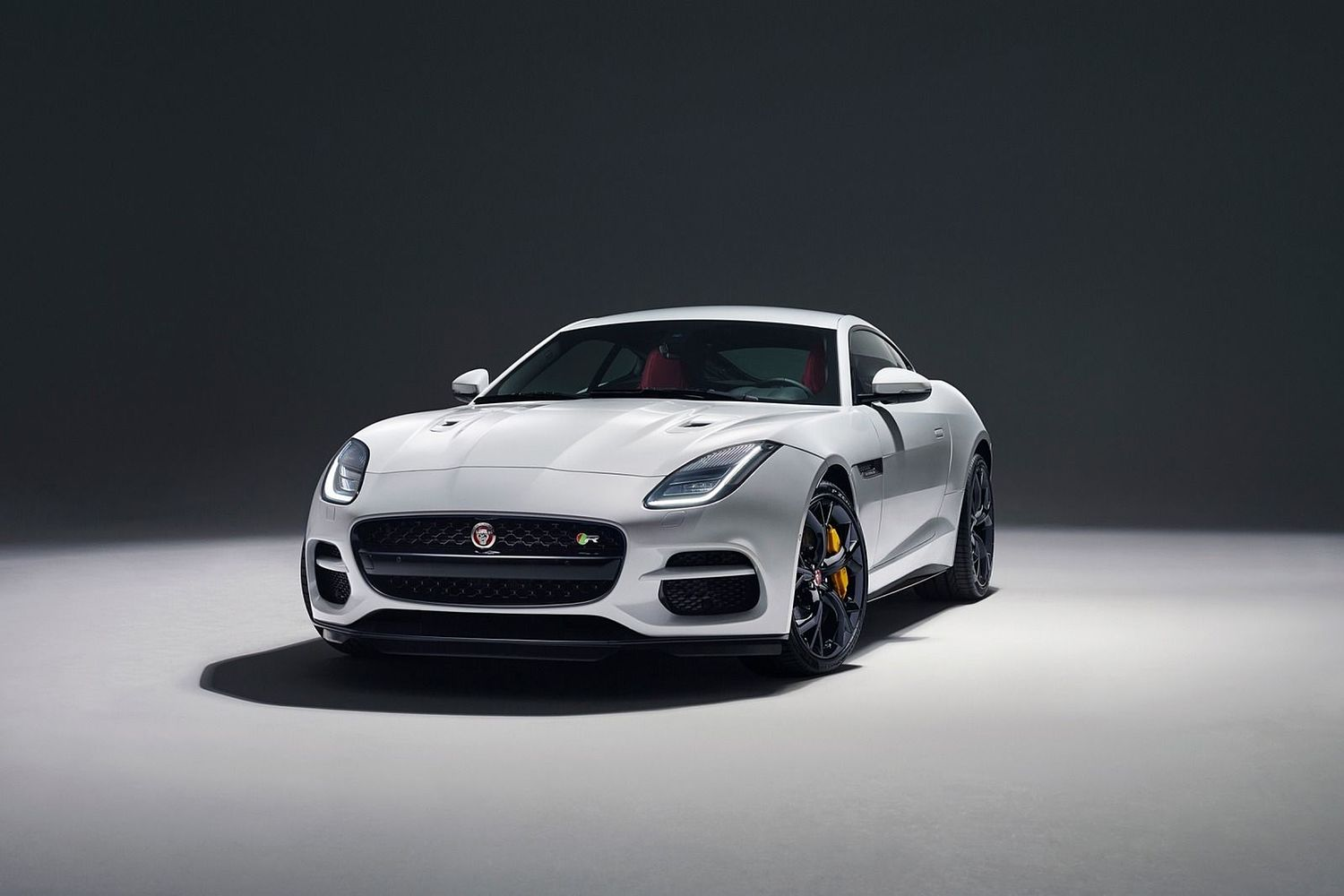 2018 Jaguar F-TYPE R Coupe Exterior Shown