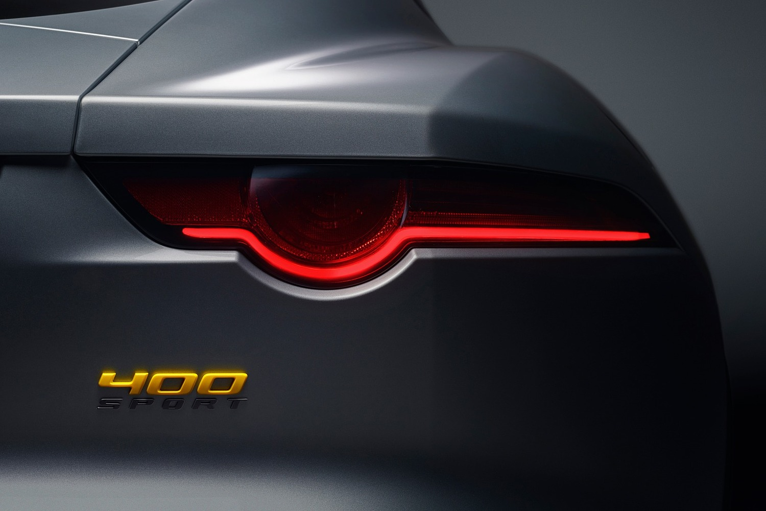 2018 Jaguar F-TYPE 400 Sport Coupe Rear Badge