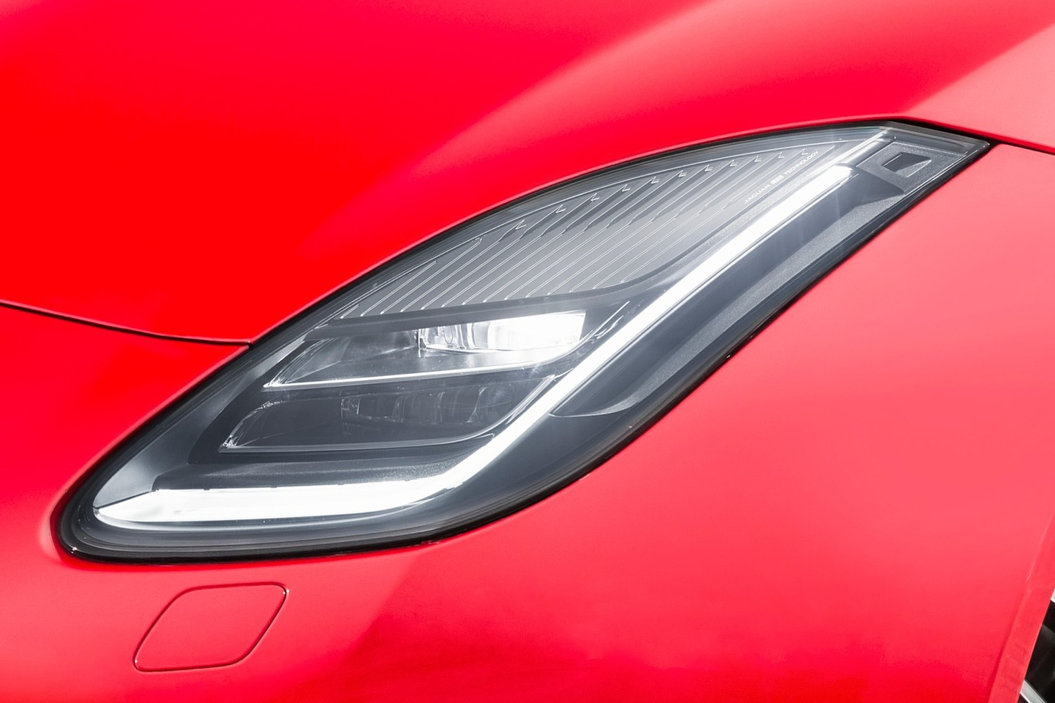 2018 Jaguar F-TYPE Coupe Headlamp Detail
