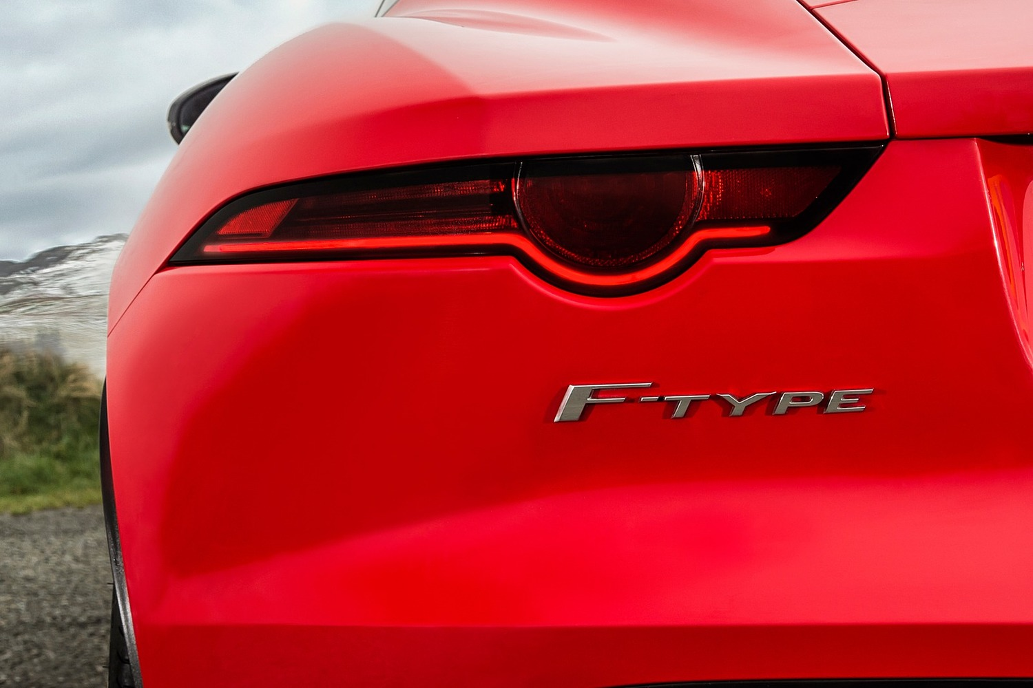 2018 Jaguar F-TYPE Coupe Rear Badge