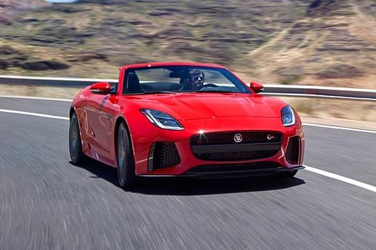 2018 Jaguar F-TYPE Convertible SVR