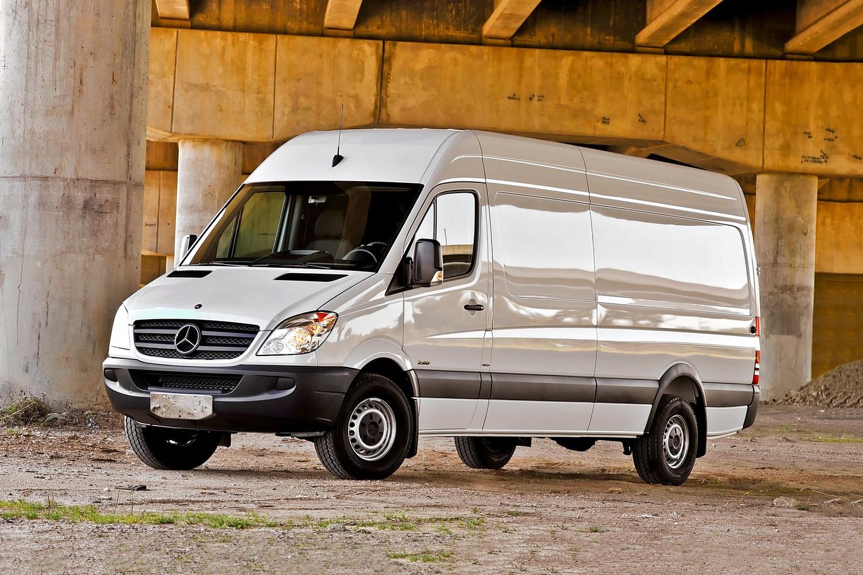 2017 Mercedes-Benz Sprinter 2500 170 WB Cargo Cargo Van Exterior Shown