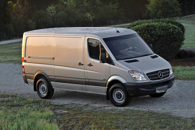 2017 Mercedes-Benz Sprinter 2500 144 WB Cargo Cargo Van Exterior Shown