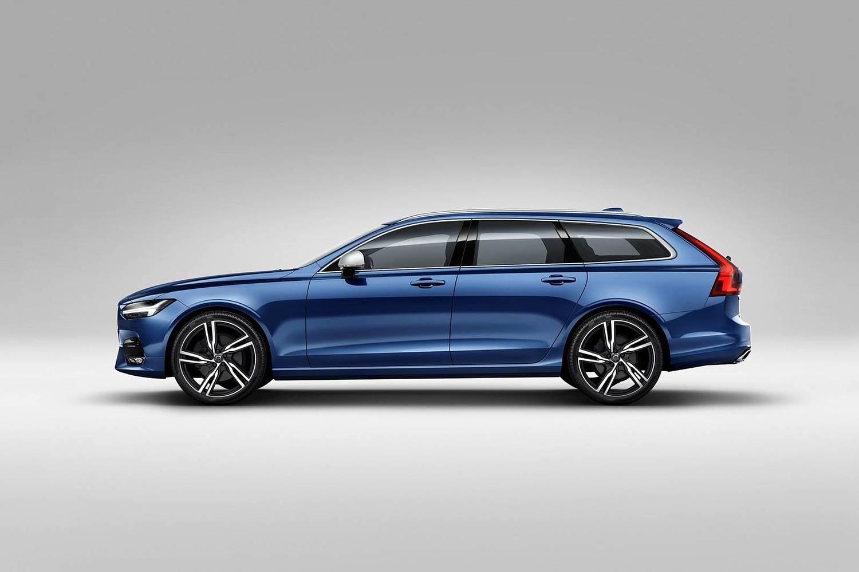 2018 Volvo V90 T6 R-Design Wagon Exterior Shown