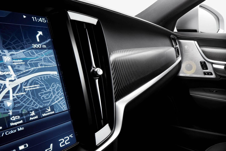 2018 Volvo V90 T6 R-Design Wagon Interior Detail