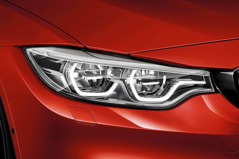 2018 BMW M4 Coupe Headlamp Detail