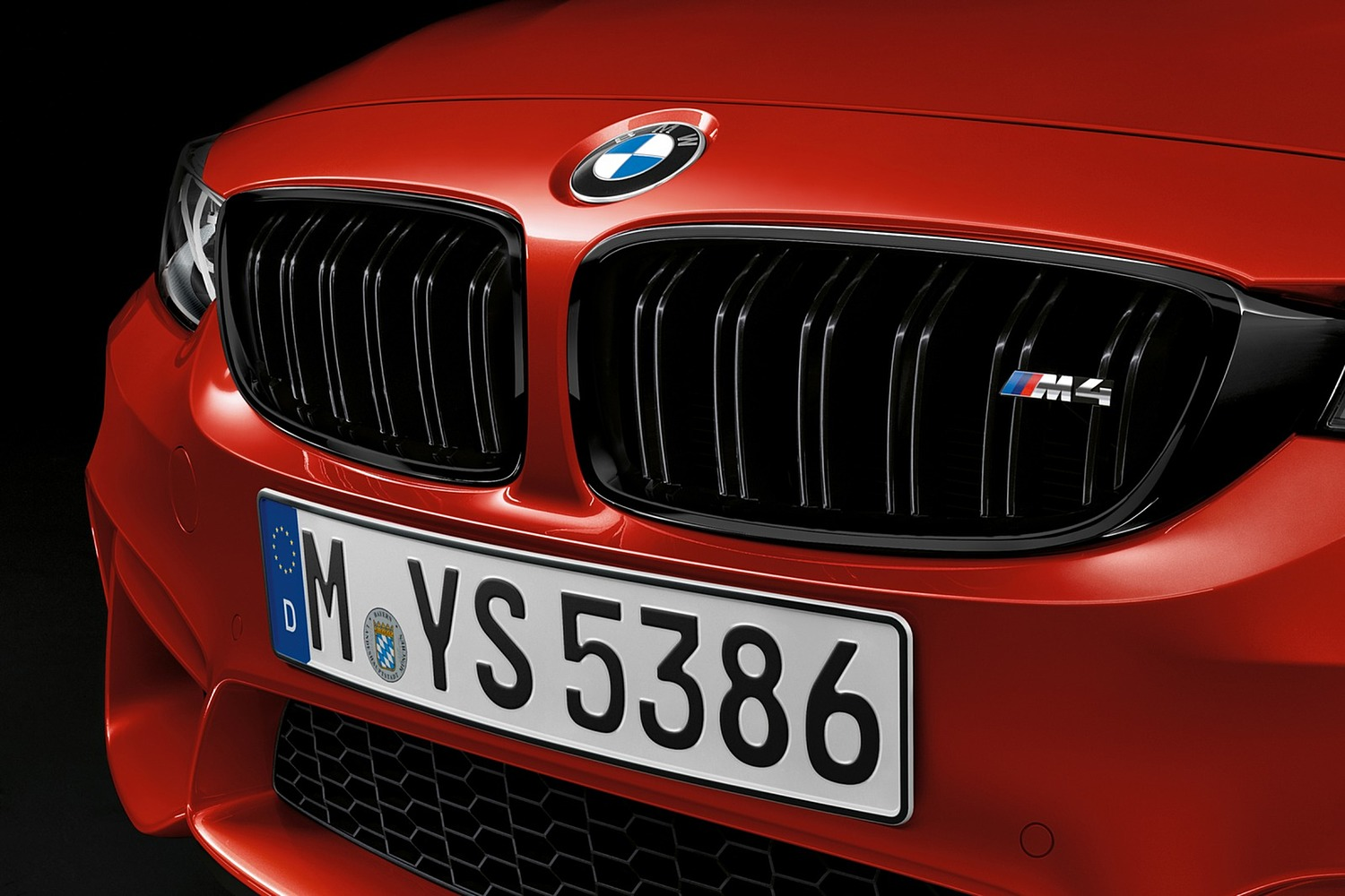 2018 BMW M4 Coupe Front Badge